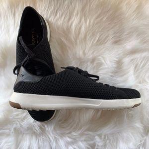 Cole Haan GrandPro Black Mesh Tennis Shoes Size 9M